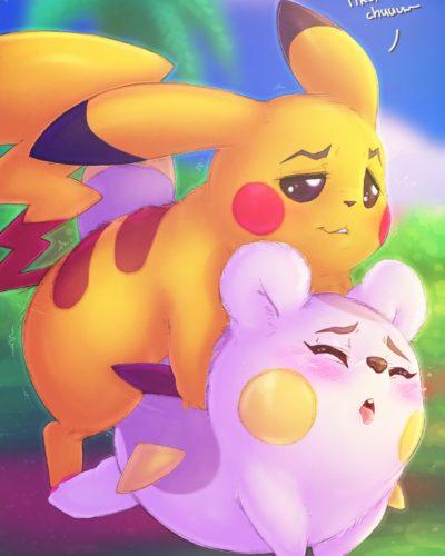 Pikachu x Togedemaru