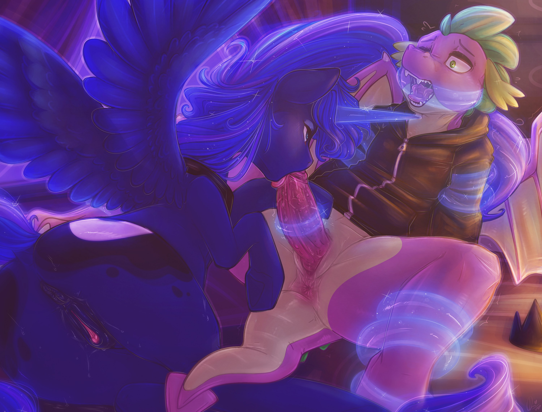 Spike x Luna Sleep Torture